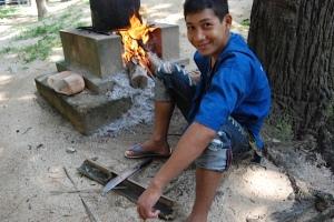 PA LA DEE FIRING UP A RAT