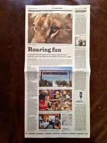 Los Angeles Times Newspaper