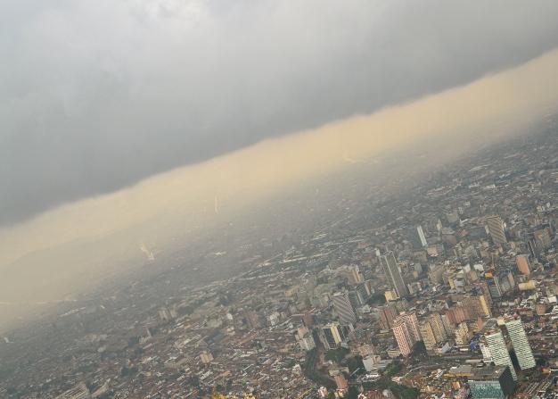 Bogota sky